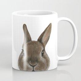 Netherland Dwarf rabbit illustration original painting print Coffee Mug