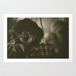 The Puppet Show Art Print