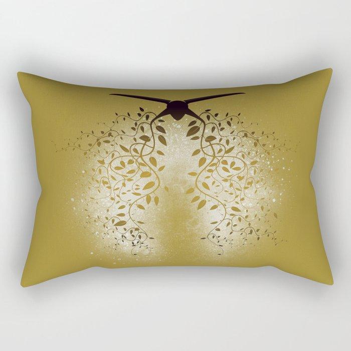 Breath the Barbare (V II gold) Rectangular Pillow
