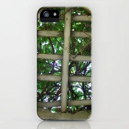 Into the garden iPhone Case