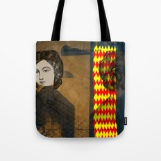 Coiffure for a young lady Tote Bag