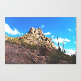 Pinnacle Peak Canvas Print