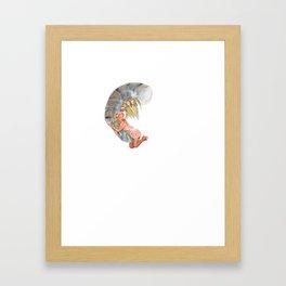 Tail On Framed Art Print