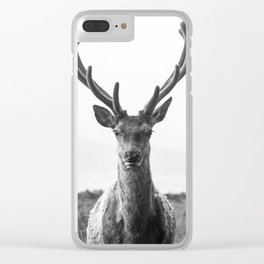 The King Clear iPhone Case