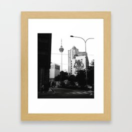 May In The City Framed Art Print