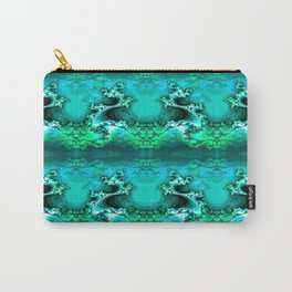 Here be Dragons (emerald green) Carry-All Pouch