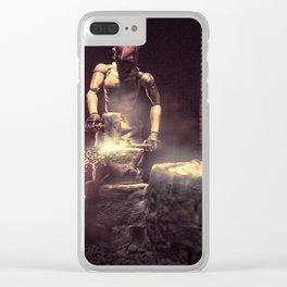 blacksmith Clear iPhone Case