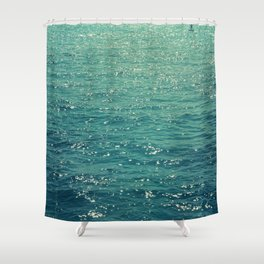 Sea is Always in your Mind Shower Curtain