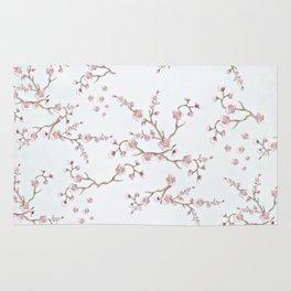 SAKURA LOVE - GRUNGE WHITE Rug