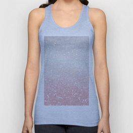 Blush Gray Princess Glitter #1 (Faux Glitter - Photography) #shiny #decor #art #society6 Unisex Tank Top