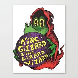King Gizzard & The Lizard Wizard - Gator Canvas Print
