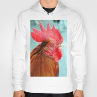 cock Hoodies featuring cock by Michael Sofronski