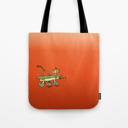 Curiosity, the rover Tote Bag