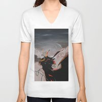 spawn V-neck T-shirts featuring Spawn by mfrioni