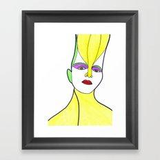Ghita (previous age) Framed Art Print