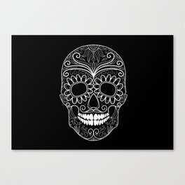 The Dark Side of Skull Canvas Print