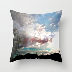 Fantasy of a Blind Reality Throw Pillow