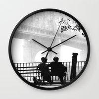 manhattan Wall Clocks featuring MANHATTAN by VAGABOND