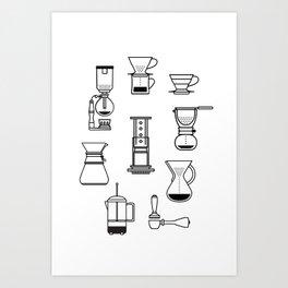 Brew Time. Art Print