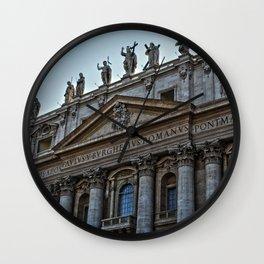 Vatican City Wall Clock