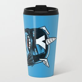 Yeticorn Comic Heroes series: Cap'n Aye!  Travel Mug