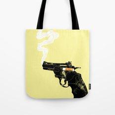 Smoking Gun Tote Bag