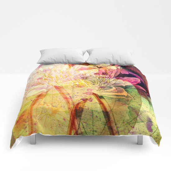 waterlily 2 Comforters