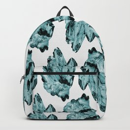 blue raspberry crystal cluster Backpack