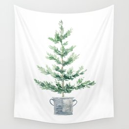 Christmas fir tree Wall Tapestry