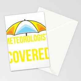 Meteorologist Meteorology Funny Weatherman Gift Stationery Cards