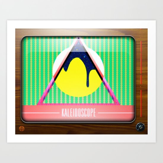 Kaleidoscope TV version B Art Print