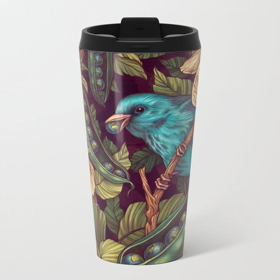 World Peas Metal Travel Mug
