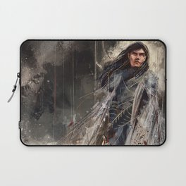 Fingolfin challenges Morgoth Laptop Sleeve