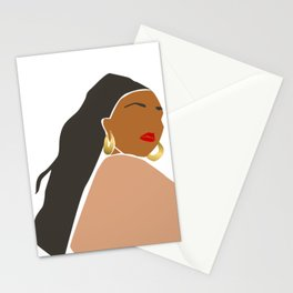 Lizzo Abstract Portrait Stationery Cards