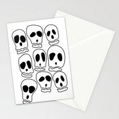Skulls-1 Stationery Cards