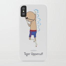 Tiger Uppercut iPhone Case