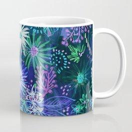 Eden Floral Blue Coffee Mug