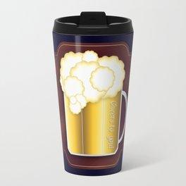 Mug of Beer, I Mean Cheer Travel Mug