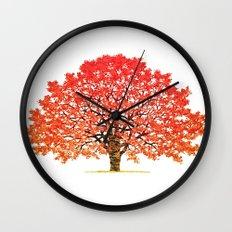 Japanese Maple 1 Wall Clock