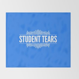 Student Tears Throw Blanket