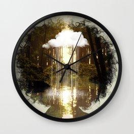 Brain Rain Wall Clock