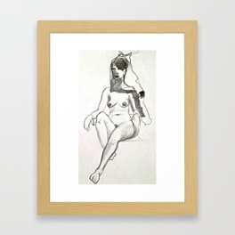 Lowered Expectations  Framed Art Print