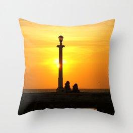 Romancing The Sunset 2 Throw Pillow