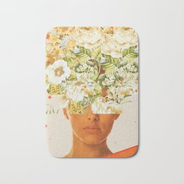 SuperFlowerHead Bath Mat