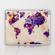 world map 20 Laptop & iPad Skin