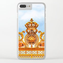 Versailles Gate of Gold Clear iPhone Case