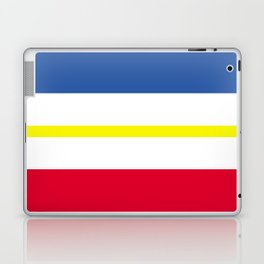 Mecklenburg Western Pomerania region flag germany province Laptop & iPad Skin