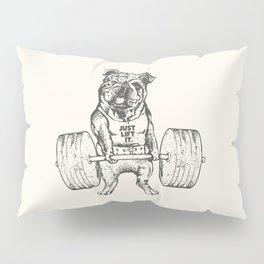 English Bulldog Lift Pillow Sham