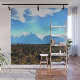 High Altitude Wall Mural