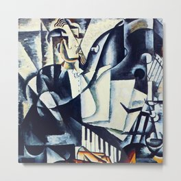 "Lyubov Popova ""The Pianist"" Metal Print"
